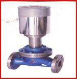 Electric knife-shaped gate valve